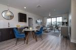 Modern apartment living area