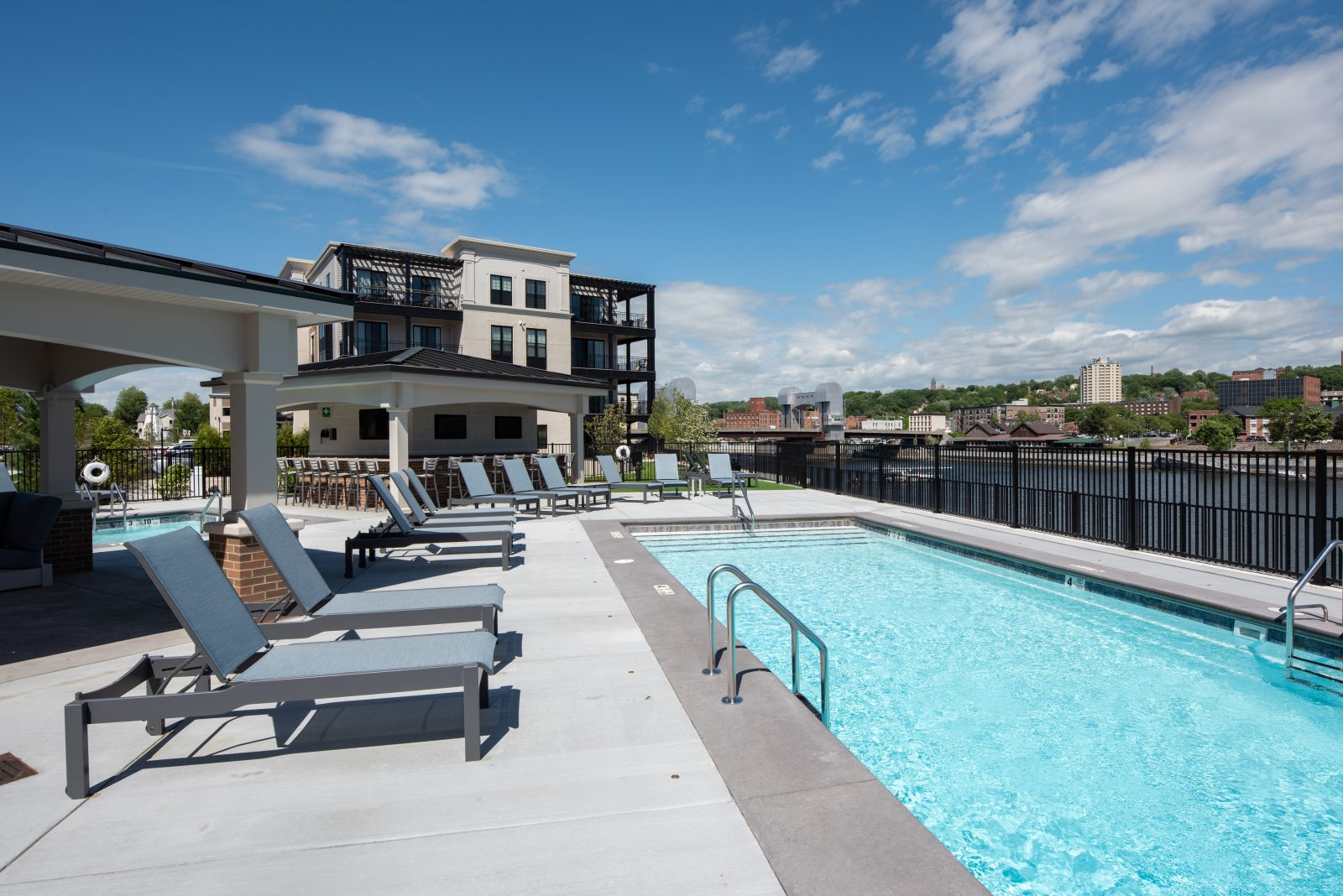 Pool and Chaise Lounge Chairs